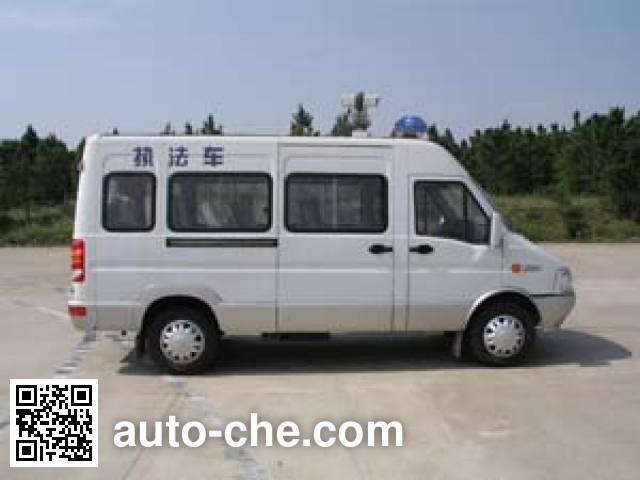 Iveco NJ5046XZF2NS law enforcement vehicle