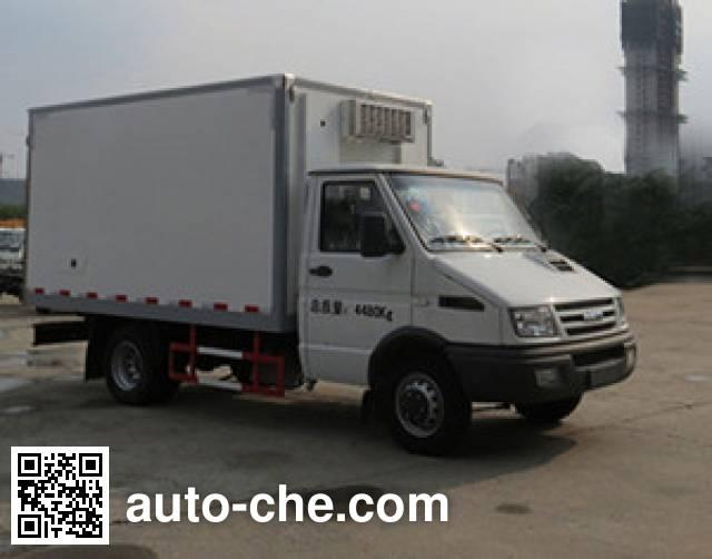 Changda NJ5048XLC4A refrigerated truck
