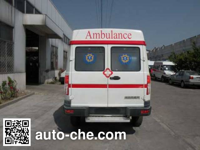 畅达牌NJ5049XJH41救护车
