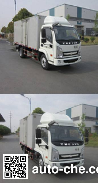 Yuejin NJ5052XXYKFDCMZ box van truck