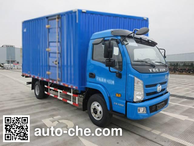 Yuejin NJ5052XXYKHDCWZ box van truck