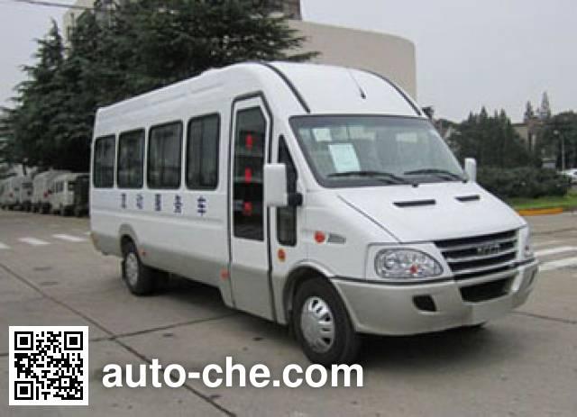 Iveco NJ5054XDW2C mobile shop