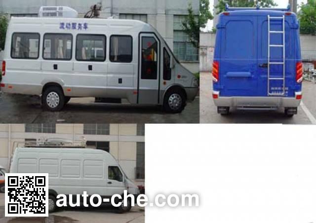 Iveco NJ5054XDWC mobile shop