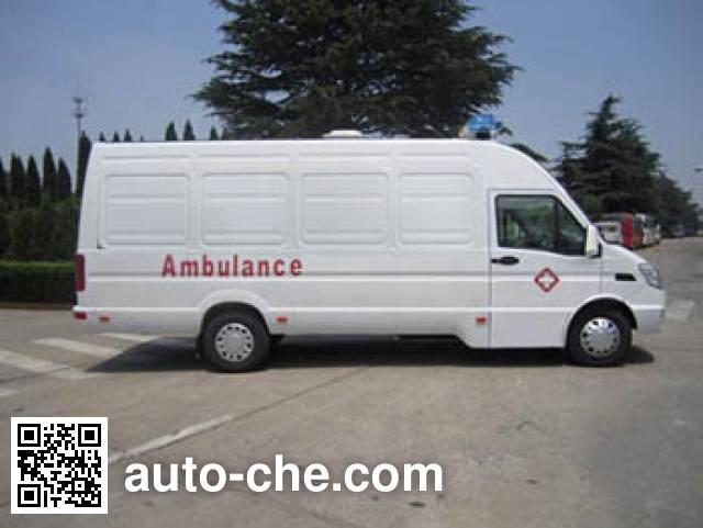 依维柯牌NJ5055XJHKD救护车