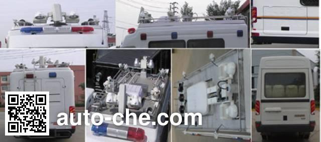 Iveco NJ5054XZHC command vehicle
