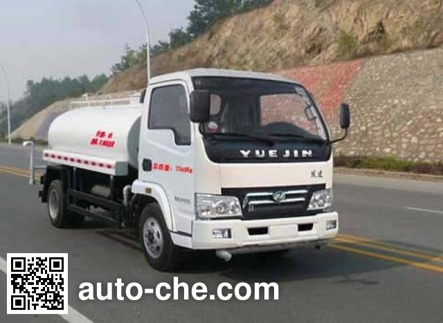 Yuejin NJ5071GSSDBFT sprinkler machine (water tank truck)