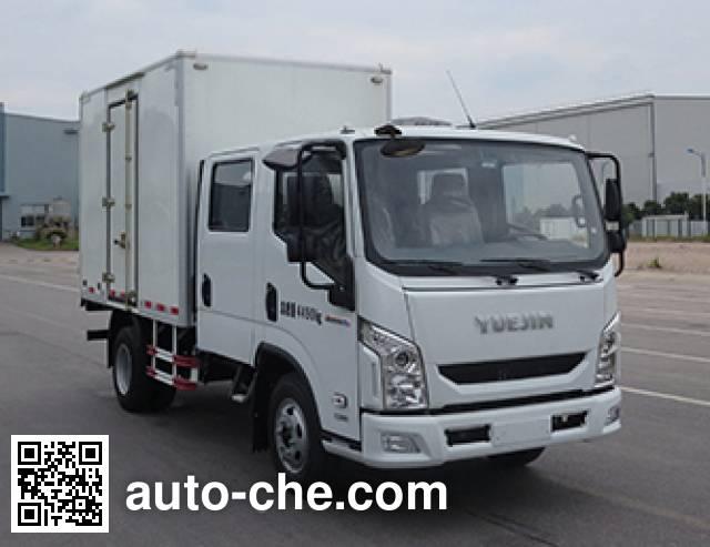 Yuejin NJ5071XXYZHDCMS box van truck