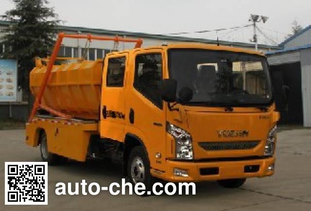 Changda NJ5071ZWX sludge dump truck