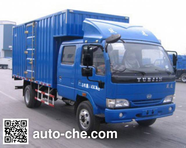 Yuejin NJ5080XXYDCJS4 box van truck