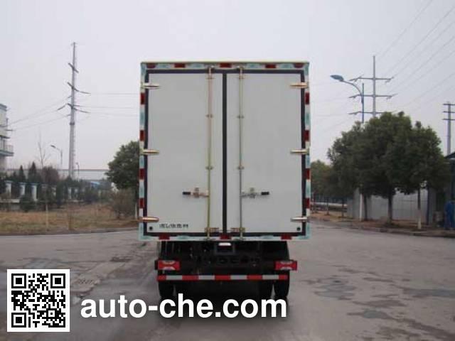 Yuejin NJ5081XXYZHDCWZ box van truck
