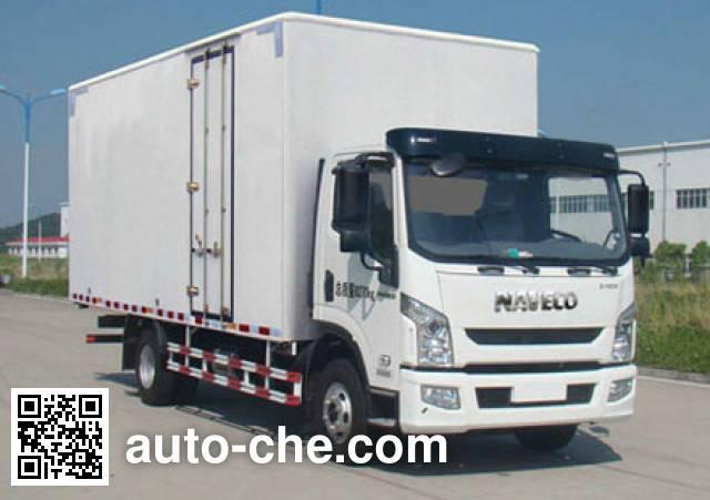 Yuejin NJ5081XXYZKDCWZ box van truck