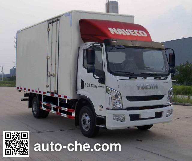 Yuejin NJ5102XXYZHDCWZ box van truck