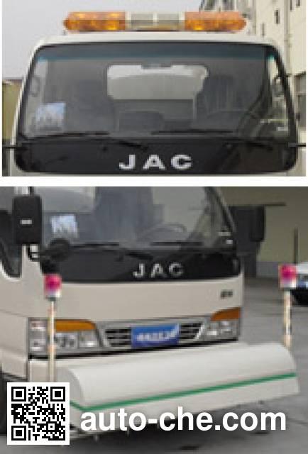畅达牌NJ5090GQXEV纯电动高压清洗车