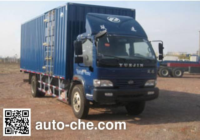 Yuejin NJ5090XXY-DCMT4 box van truck