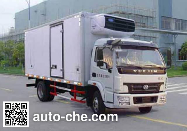 Yuejin NJ5100XLCDDJT refrigerated truck