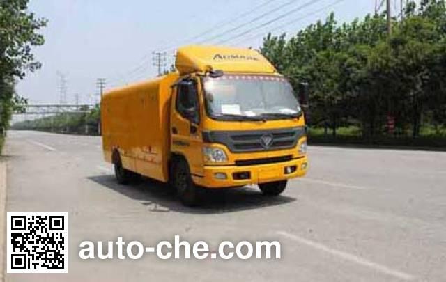 Changda NJ5120GQX4 street sprinkler truck