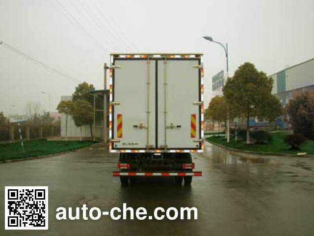 Yuejin NJ5161XLCZNDDWZ refrigerated truck