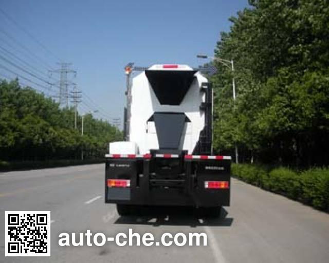 畅达牌NJ5250TRZYH沥青路面热再生综合养护车