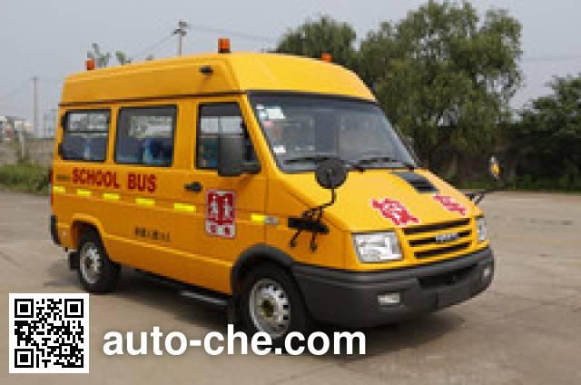 畅达牌NJ6509YXL幼儿专用校车