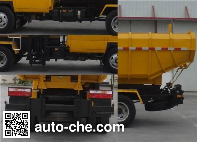 Luxin NJJ5072ZZZ self-loading garbage truck