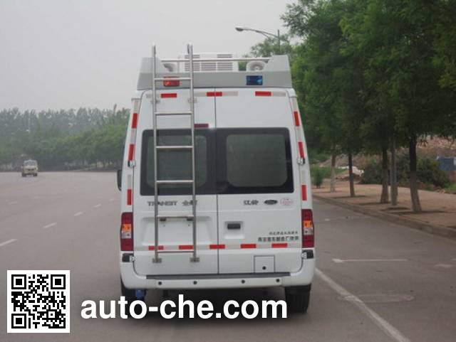 Yuhua NJK5038XZH communications command vehicle