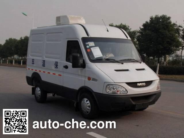 Yuhua NJK5041XBW2 insulated box van truck