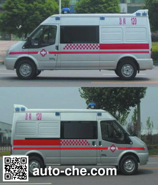 雨花牌NJK5048XJH4救护车