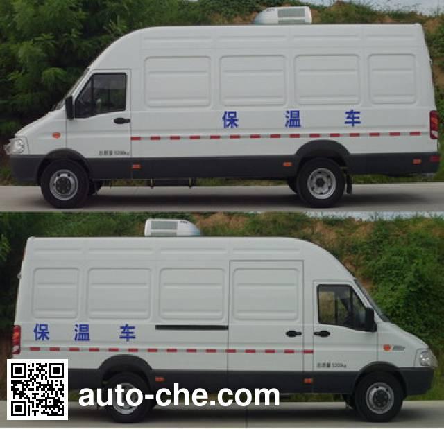 Yuhua NJK5054XBW insulated box van truck