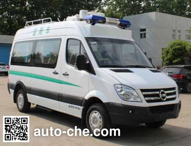 Dongyu Skywell NJL5040XJE monitoring vehicle