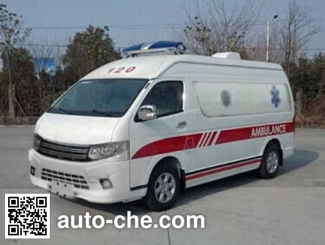 Dongyu Skywell NJL5042XJHBEV electric ambulance