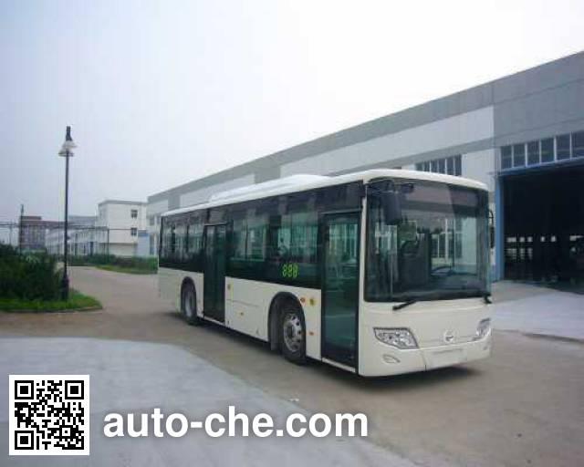 开沃牌NJL6100BEV1纯电动城市客车