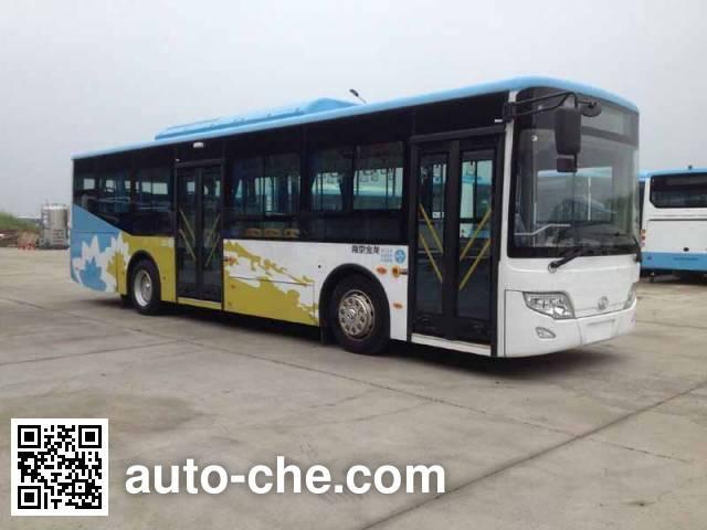 东宇牌NJL6109HEV混合动力城市客车