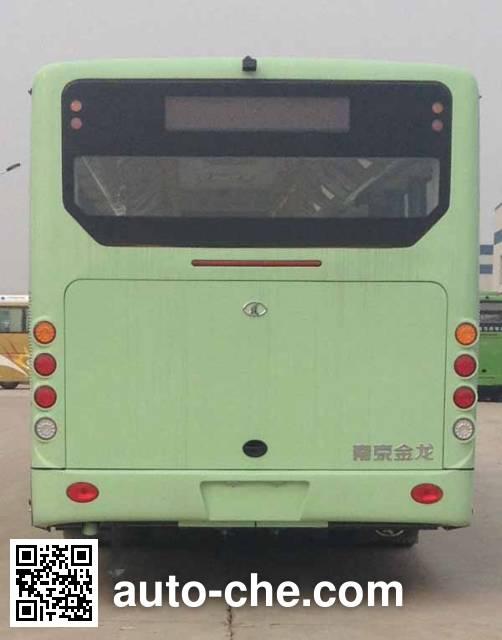 东宇牌NJL6109HEV1混合动力城市客车