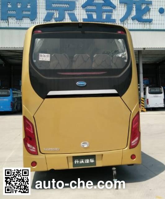 开沃牌NJL6125HEV混合动力客车