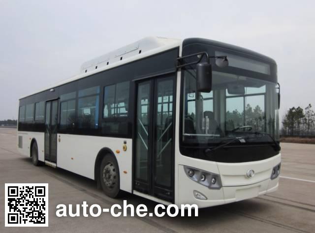 东宇牌NJL6129HENV混合动力城市客车