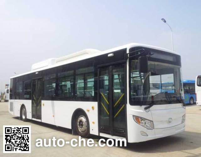 东宇牌NJL6129HEVN1混合动力城市客车