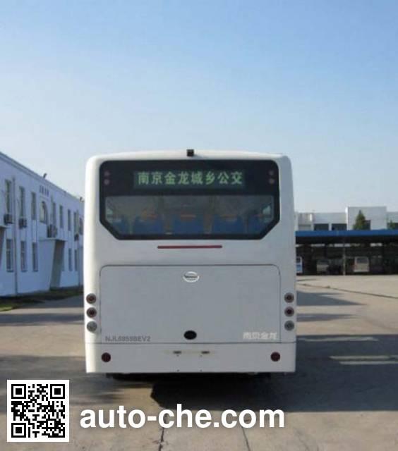 开沃牌NJL6859BEV2纯电动城市客车