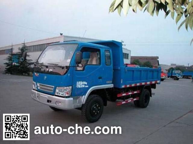 CNJ Nanjun NJP5815PD8 low-speed dump truck
