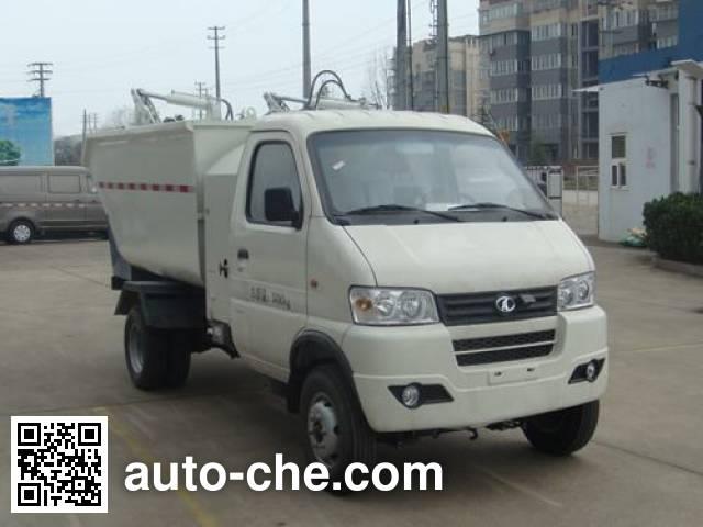 King Long NJT5033ZZZBEV electric self-loading garbage truck