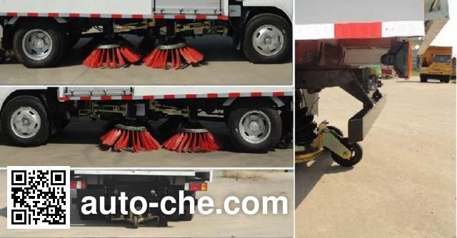 King Long NJT5070TSLBEV electric street sweeper truck