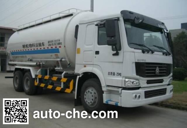 天印牌NJZ5252GFL3粉粒物料运输车