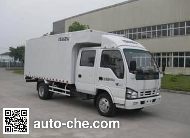 Isuzu NKR77PLLWCJAXS van truck