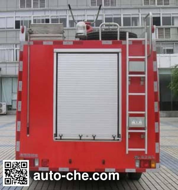 南马牌NM5100GXFPM35泡沫消防车