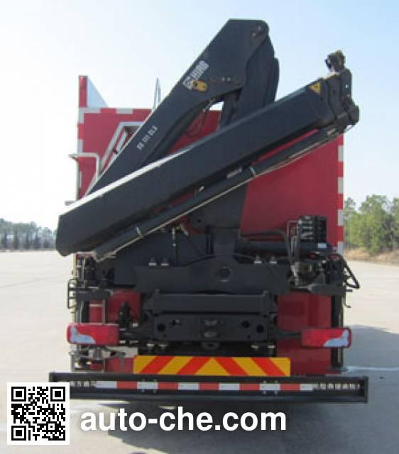 南马牌NM5140TXFJY100抢险救援消防车