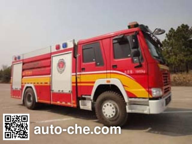 南马牌NM5190GXFPM80/ZZ泡沫消防车