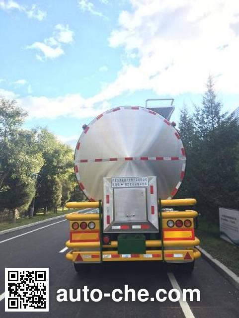 Mulika NTC9404GYS liquid food transport tank trailer