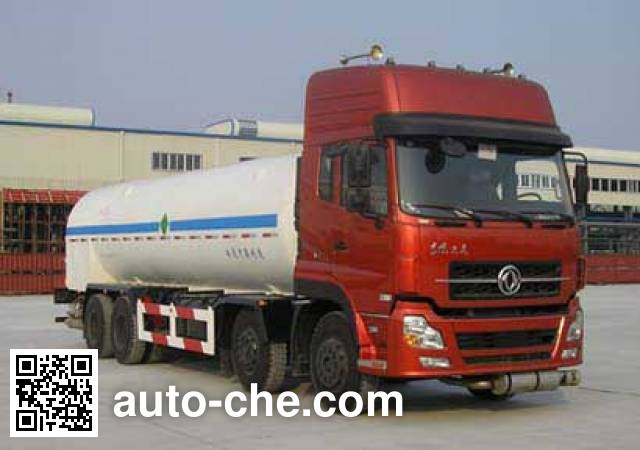 CIMC NTV5310GDY cryogenic liquid tank truck
