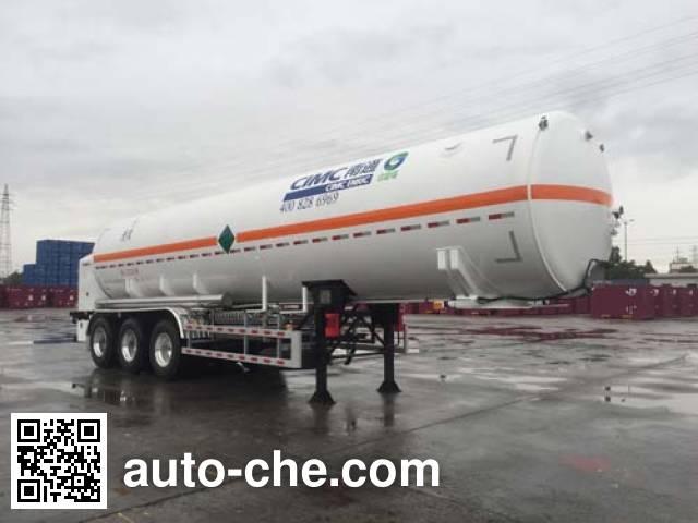 CIMC NTV9401GDYD cryogenic liquid tank semi-trailer
