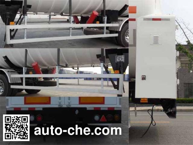 CIMC NTV9407GDY cryogenic liquid tank semi-trailer