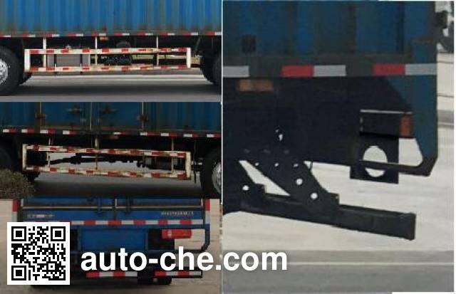 XCMG NXG5250XXY5 box van truck